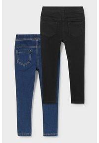 C&A - 2 PACK - Jeans Skinny Fit - denimdark blue - 1