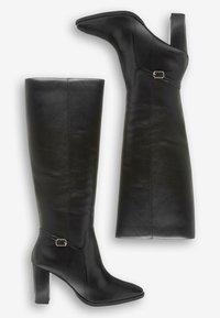 Next - TAN SIGNATURE  - High heeled boots - black - 2