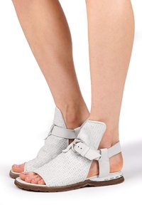 A.S.98 - Ankle cuff sandals - bianco - 0