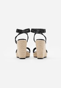 NA-KD - High heeled sandals - black - 3