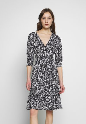 WRAP DRESS PRINT - Jersey dress - leaf cool