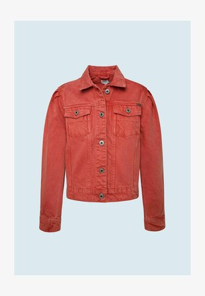 EVERLY  - Denim jacket - rot