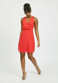 Vila - Cocktail dress / Party dress - mars red - 1