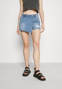 ONLY - ONLTEXAS LIFE - Denim skirt - light blue denim - 0