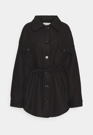 MY DEAREST SHACKET - Short coat - black