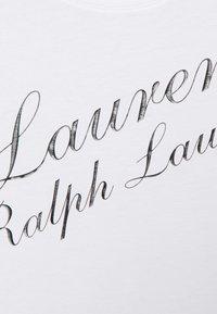 Lauren Ralph Lauren Woman - KATLIN SHORT SLEEVE - Print T-shirt - white - 5
