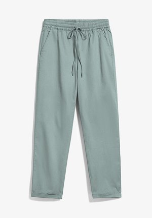 Tracksuit bottoms - eucalyptus green
