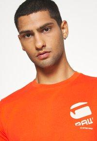 G-Star - BIG LOGO BACK  - T-shirt print - bright acid - 3