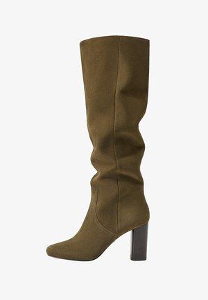 DESSY - Vysoká obuv - waldgrün