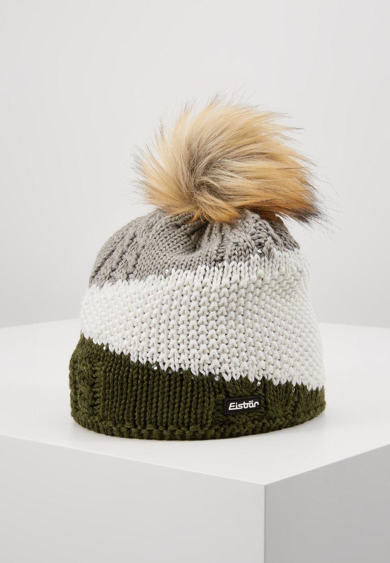 Eisbär - EDEN LUX CRYSTAL  - Beanie - outdoorgreen/white