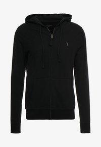 BRACE HOODY - Zip-up hoodie - black