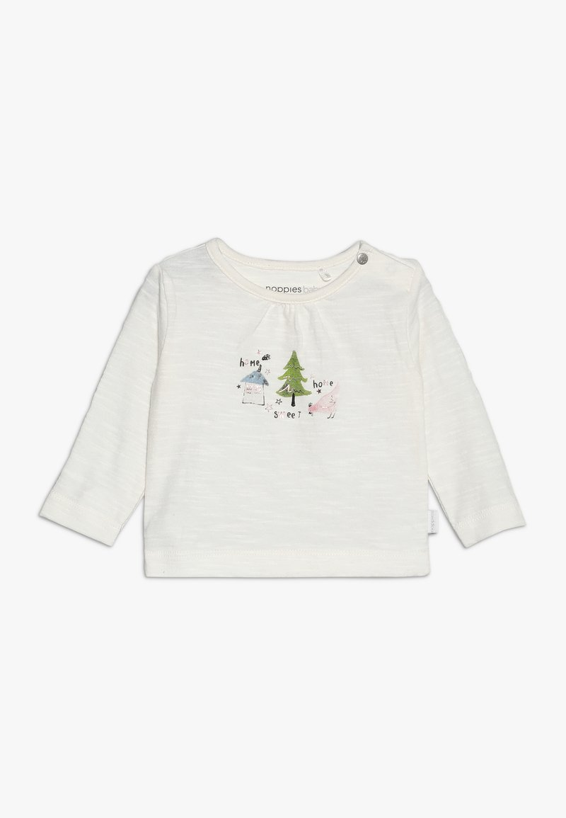 Noppies - TEE SLIM COVINGTON BABY - Long sleeved top - whisper white