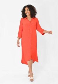 Live Unlimited London - BURNT  - Shirt dress - orange - 0
