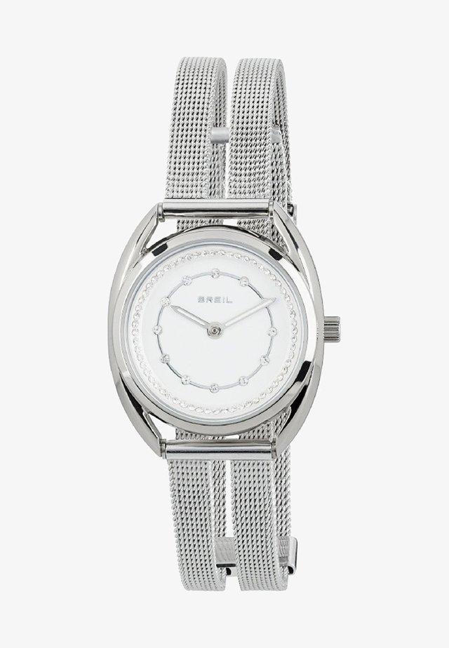 PETIT - Watch - steel/white