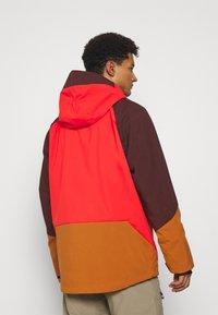 O'Neill - ORIGINAL ANORAK - Hardshell jacket - fiery red - 2