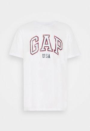 CITY ARCH TEE - Print T-shirt - optic white