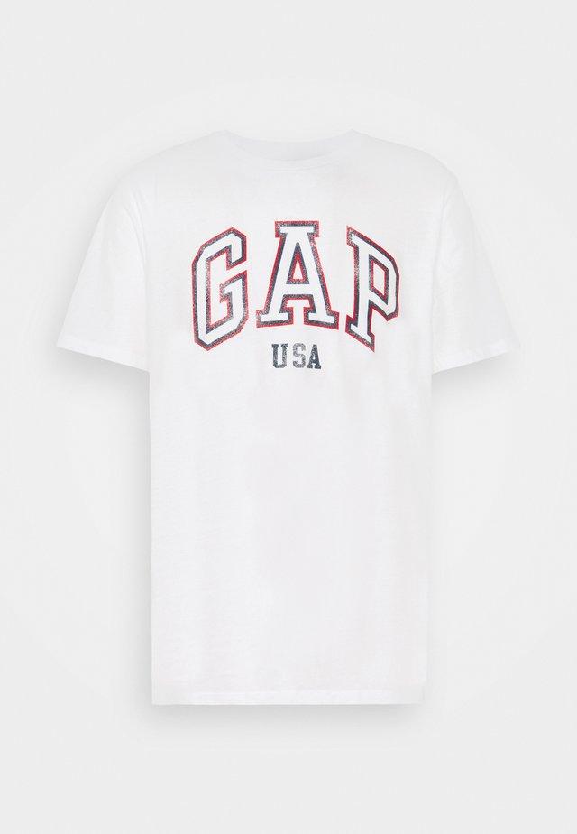 CITY ARCH TEE - T-Shirt print - optic white