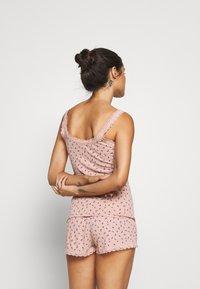 Hunkemöller - SHORT SET - Pyjama set - misty rose - 2