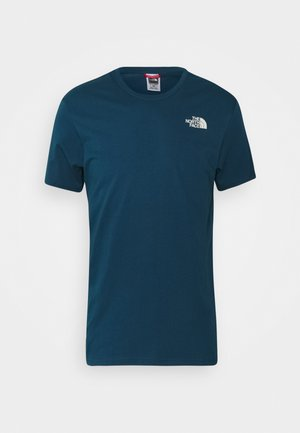 REDBOX CELEBRATION TEE - T-shirt con stampa - monterey blue