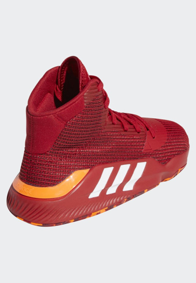 adidas Performance PRO BOUNCE 2019 SHOES - Basketballschuh - red/rot - Herrenschuhe s4kWN