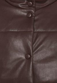 NA-KD - PADDED JACKET - Winter jacket - brown - 2