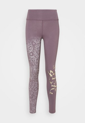 YOGA LEGGINGS - Trikoot - purple gray