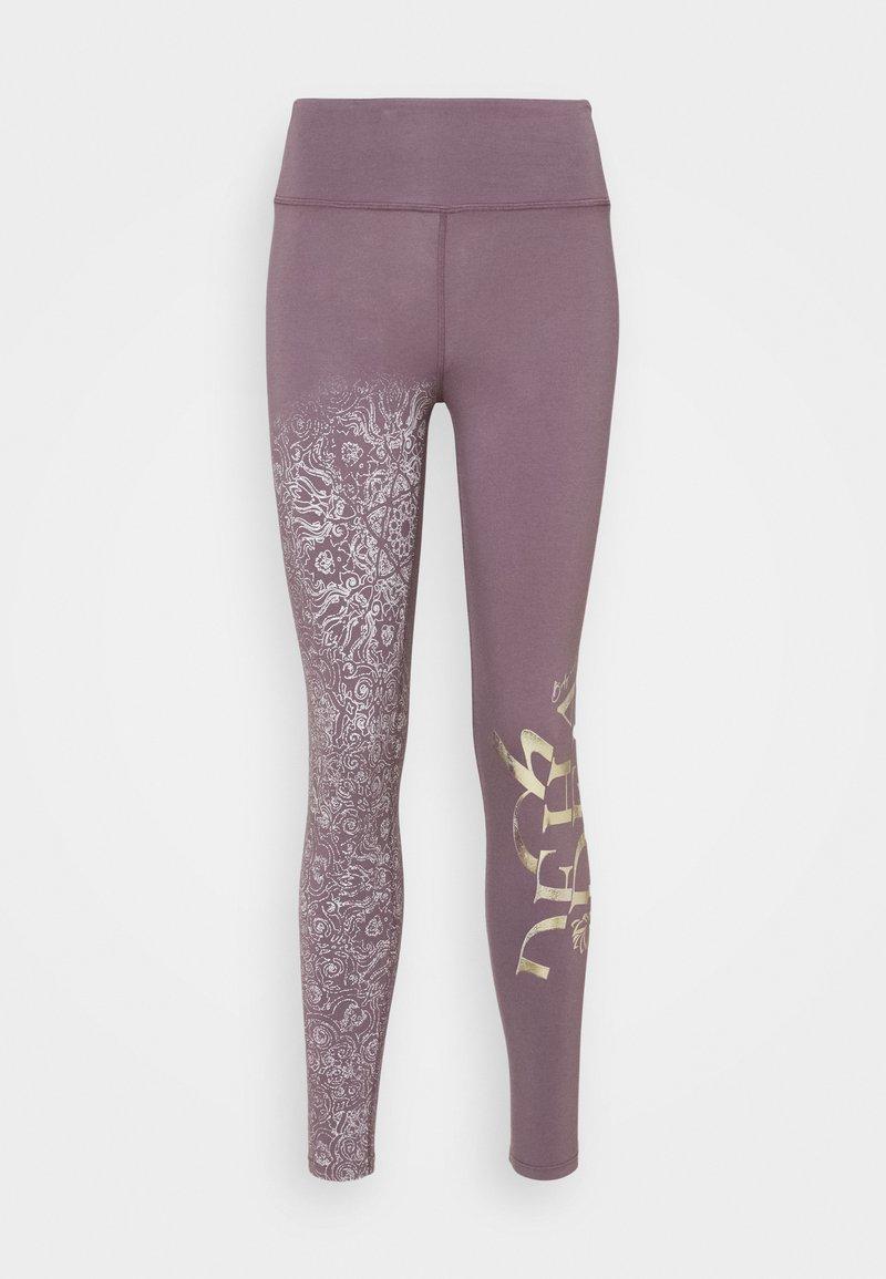 Deha - YOGA LEGGINGS - Legging - purple gray
