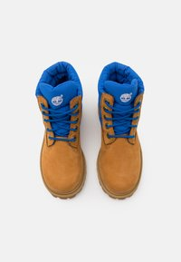 Timberland - PREMIUM UNISEX - Lace-up ankle boots - wheat/blue - 3