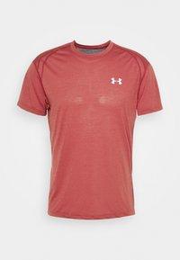 STREAKER SHORTSLEEVE - T-shirts print - cinna red