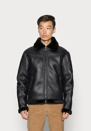 BELL - Faux leather jacket - black