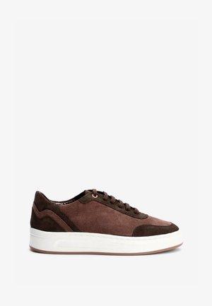 SIGNATURE DETAIL  - Sneakers laag - dark brown