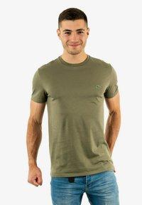 Lacoste - T-shirt basique - vert - 0