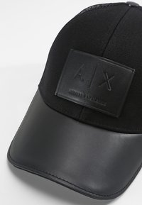 Armani Exchange - LOGO PATCH  - Cap - nero