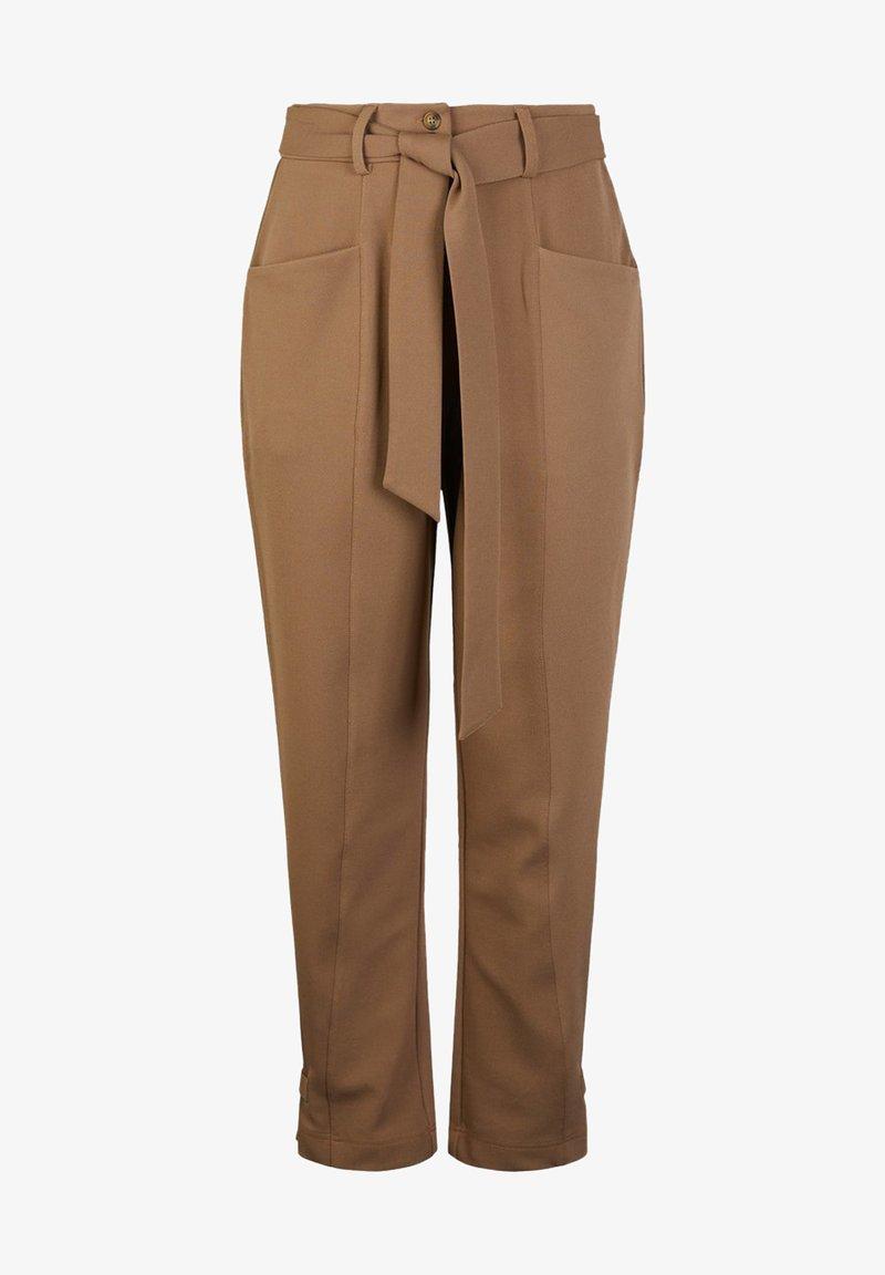 YAS - Trousers - nougat