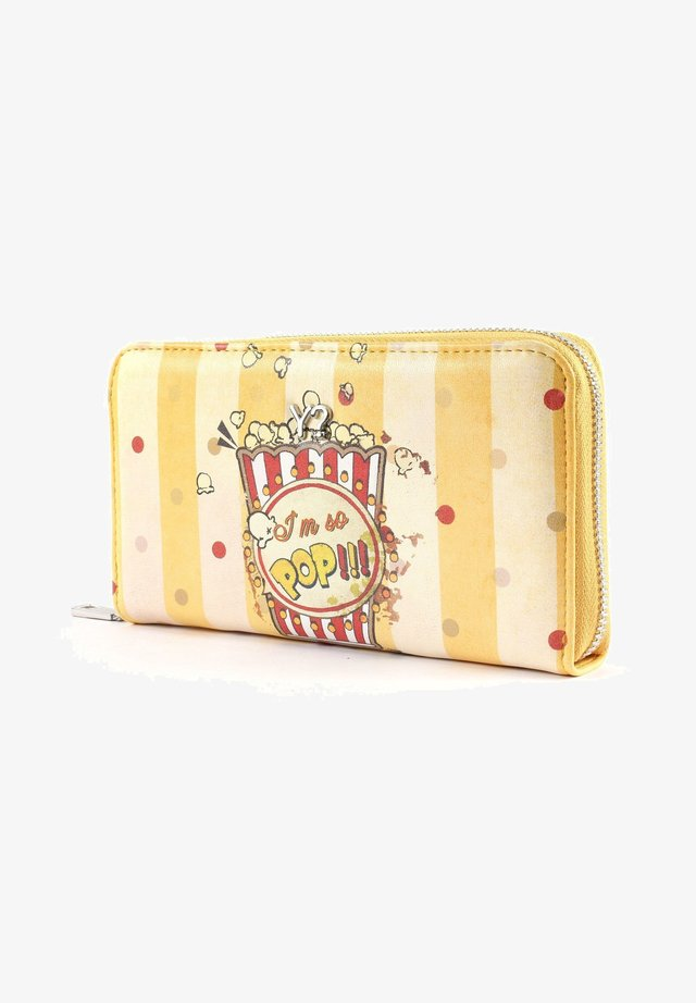 POPCORN  - Wallet - yellow