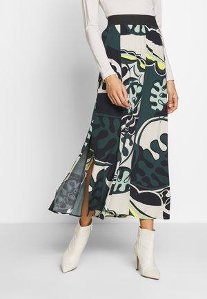 CUIN - Spódnica trapezowa - dunkelgrün