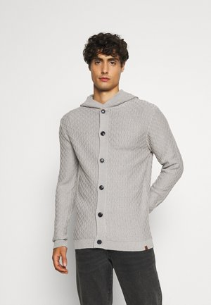 CLANCY - Cardigan - light grey melange