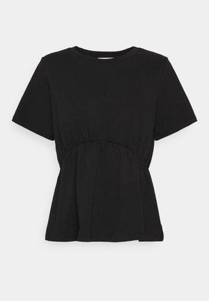 ONLANDREA DETAIL - T-Shirt print - black