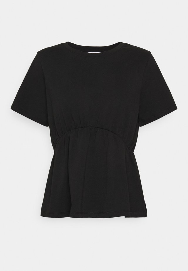 ONLANDREA DETAIL - T-shirts print - black