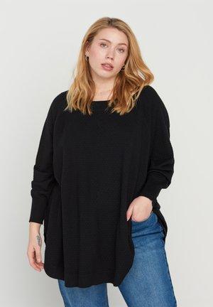 MIT STRUKTUR - Pullover - black