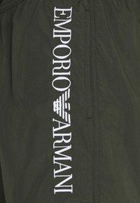 Emporio Armani - BOXER - Badeshorts - military green - 5