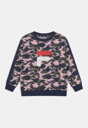 ROSY CREW NECK UNISEX - Sweater - rose/black iris