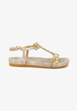 VALENCIA - Sandals - beige