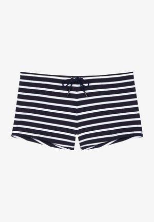 Swimming shorts - navy/white stripes