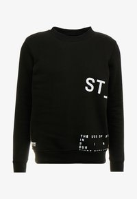 STEREOTYPE - INSTRUSTIONS CREW - Mikina - black - 4