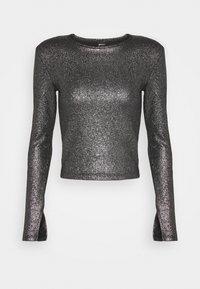 Gina Tricot - JONNA - Bluzka z długim rękawem - black/silver - 5