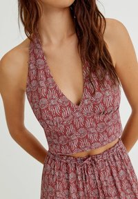 PULL&BEAR - Top - red - 3