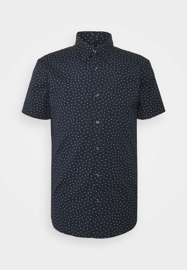 SUPER SLIM - Shirt - navy