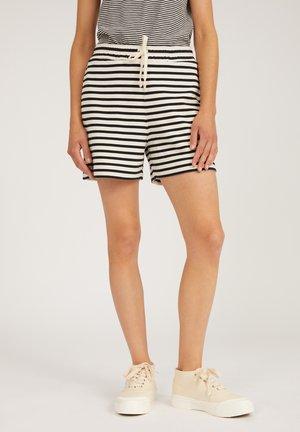 Shorts - undyed-black