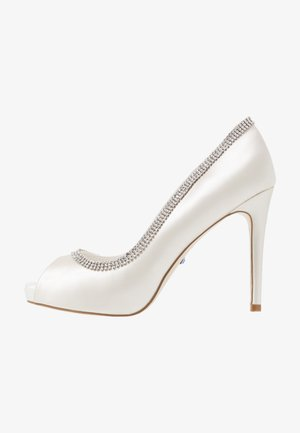 CHARMED - Høye hæler med åpen front - ivory